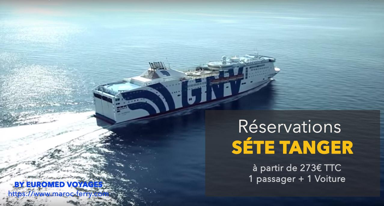 ferry sete tanger